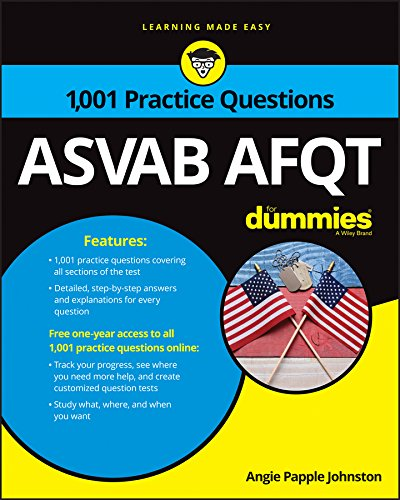 1,001 ASVAB AFQT Practice Questions For Dummies 1st Edition Pdf Free Download