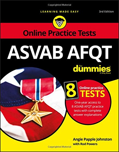 ASVAB AFQT For Dummies 3rd Edition Pdf Free Download