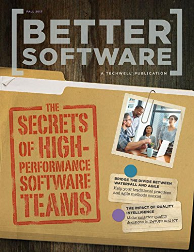 Better Software: The Secrets OF High Performance Software 1st Edition Pdf Free Download