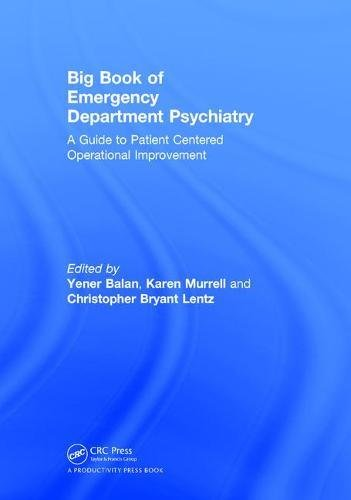 Big Book of Emergency Department Psychiatry 1st Edition Pdf Free Download