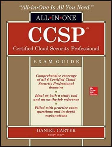 CCSP Certified Cloud Security Professional All-in-One Exam Guide 1st Edition Pdf Free Download
