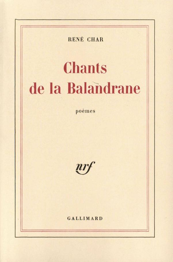 Chants de la Balandrane 1st Edition Pdf Free Download