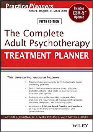 The Complete Adult Psychotherapy Treatment Planner 5th Edition Pdf Free Download