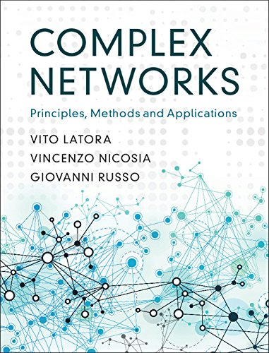 Complex Networks: Principles, Methods and Applications 1st Edition Pdf Free Download