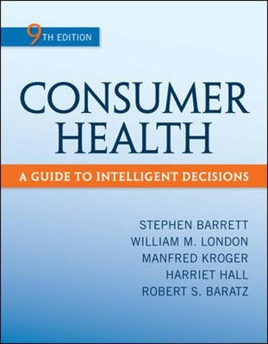 Consumer Health: A Guide To Intelligent Decisions 9th Edition Pdf Free Download