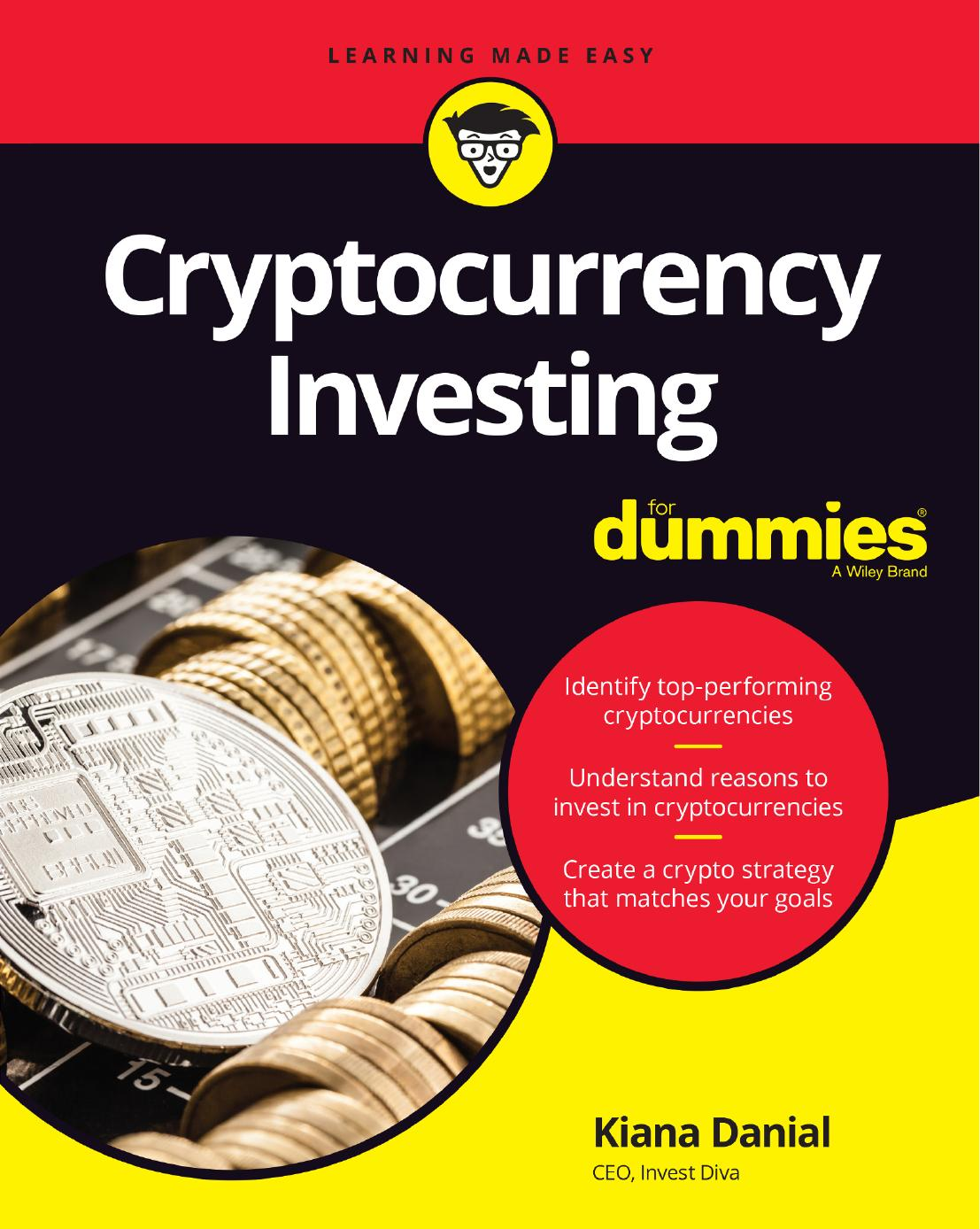 Cryptocurrency Investing For Dummies 1st Edition Pdf Free Download