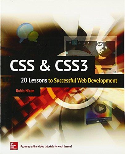 Css Css3 20 Lessons To Successful Web Development Pdf Libribook