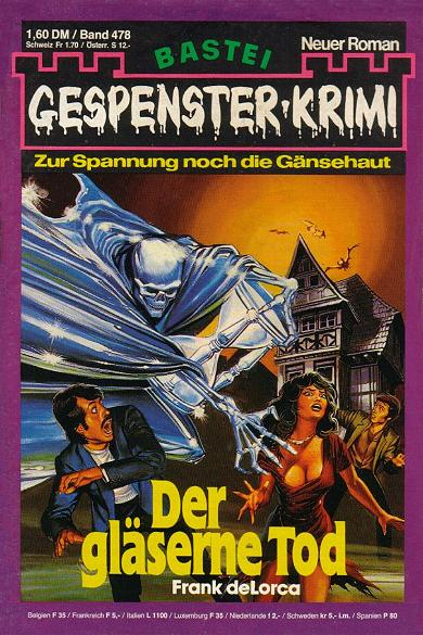 Der gläserne Tod Gespenster Krimi Nr. 478 1st Edition Pdf Free Download