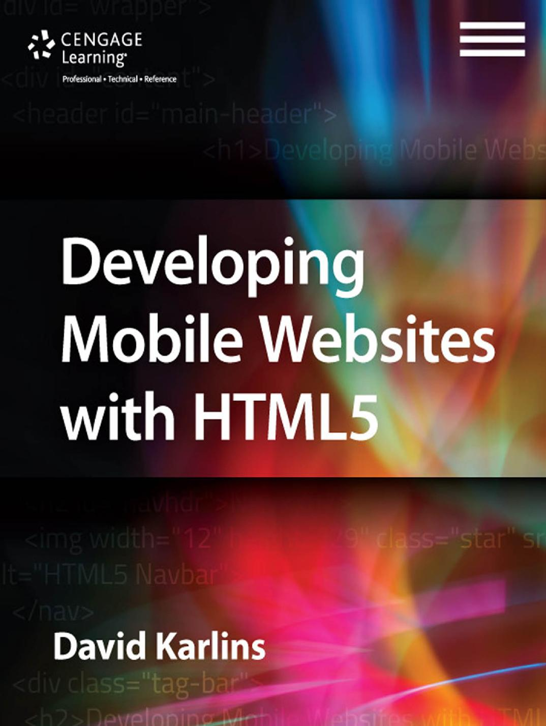 Developing Mobile Websites with HTML5 1st Edition Pdf Free Download