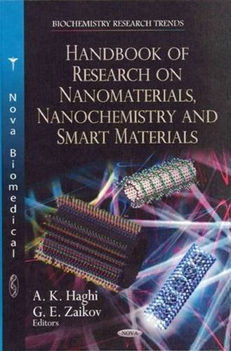 Handbook of Research on Nanomaterials, Nanochemistry 1st Edition Pdf Free Download