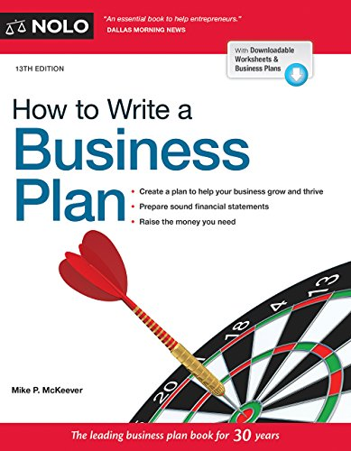 Read How to Write a Business Plan 13th Edition