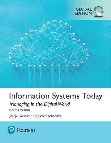 Information Systems Today Global 8th Edition Pdf Free Download