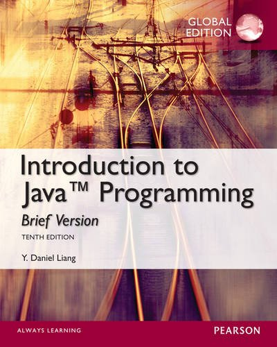 Intro to Java Programming, Brief Version 10th Edition Pdf Free Download