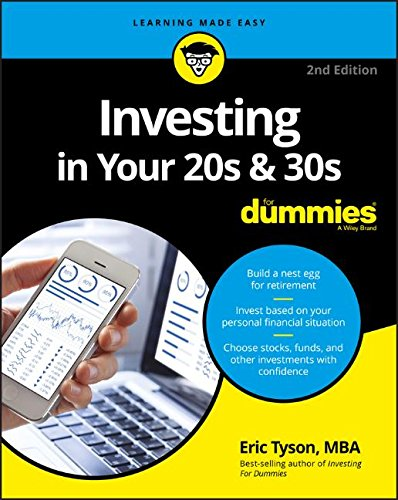 Investing in Your 20s and 30s For Dummies 2nd Edition Pdf Free Download