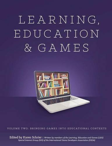 Learning and Education Games: Volume Two 1st Edition Pdf Free Download
