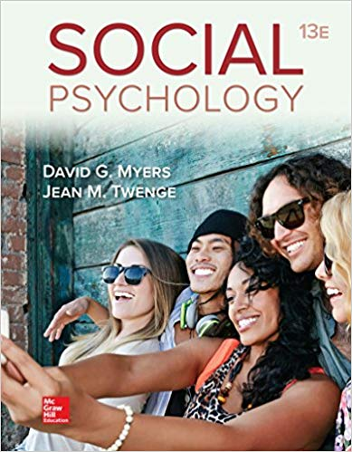 Loose-leaf for Social Psychology 13th Edition Pdf Free Download