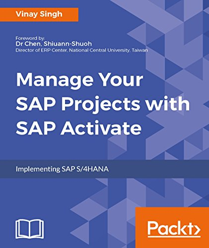 Manage Your SAP Projects With SAP Activate 1st Edition Pdf Free Download
