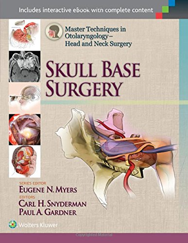 Master Techniques in Otolaryngology - Head and Neck Surgery 1st Edition Pdf Free Download