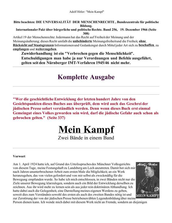 Mein Kampf 1st Edition Pdf Free Download