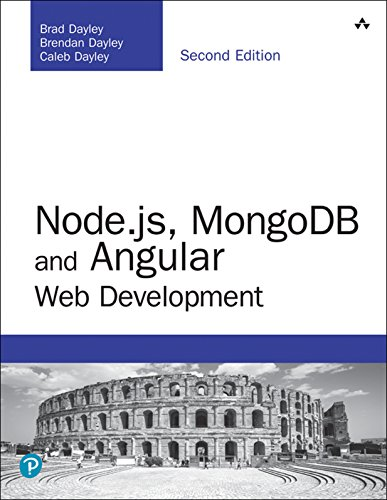 Node.js, MongoDB and Angular Web Development 2nd Edition Pdf Free Download