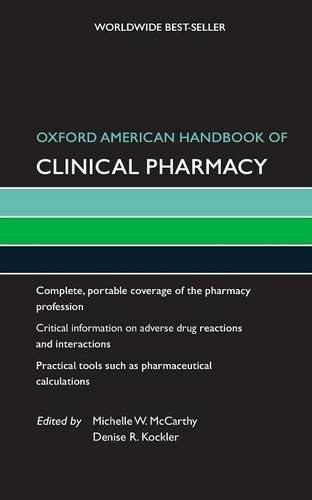 Oxford American handbook of clinical pharmacy 1st Edition Pdf Free Download