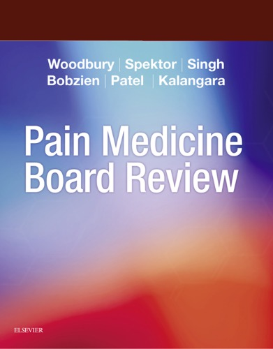 Pain Medicine Board Review 1st Edition Pdf Free Download