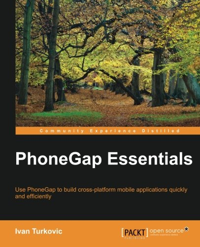 PhoneGap Essentials 1st Edition Pdf Free Download