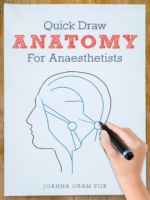 Quick Draw Anatomy for Anaesthetists 1st Edition Pdf Free Download