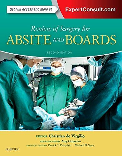 Review of Surgery for ABSITE and Boards 2nd Edition Pdf Free Download