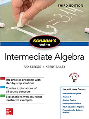 Schaum's Outline of Intermediate Algebra 3rd Edition Pdf Free Download