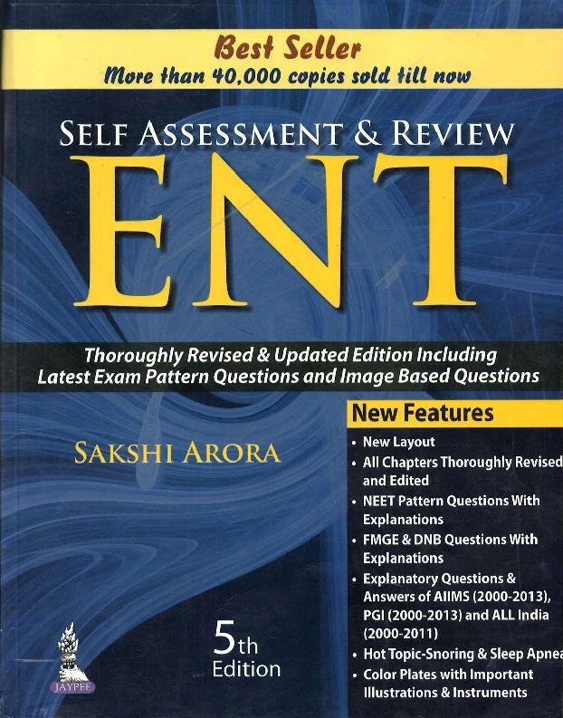 Downloading Self Assessment and Review ENT 5th Edition