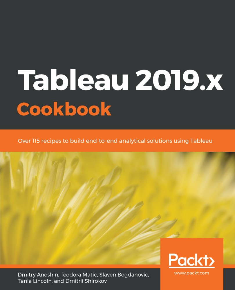 Tableau 2019.x Cookbook 1st Edition Pdf Free Download