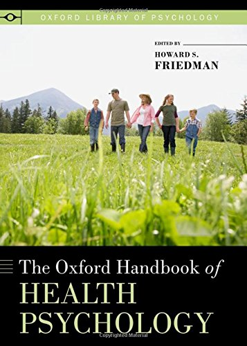 The Oxford Handbook of Health Psychology 1st Edition Pdf Free Download