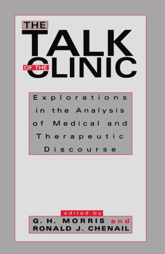 The Talk of the Clinic 1st Edition Pdf Free Download