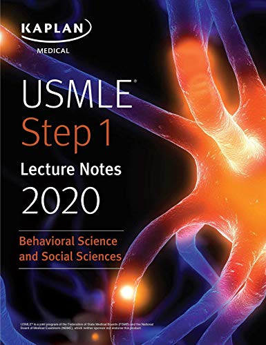 USMLE Step 1 Lecture Notes 2020: Behavioral Science and Social Sciences 1st Edition Pdf Free Download