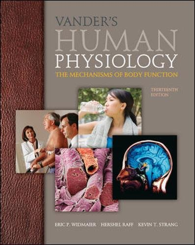 Vander's Human Physiology 13th Edition Pdf Free Download