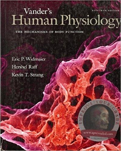 Vander's Human Physiology: The Mechanisms of Body Function 11th Edition Pdf Free Download